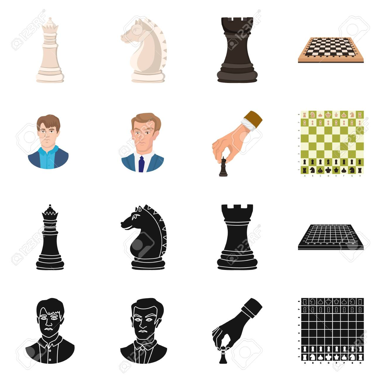 Vector illustration of checkmate and thin symbol. Collection of checkmate and target vector icon for stock. - 143496223