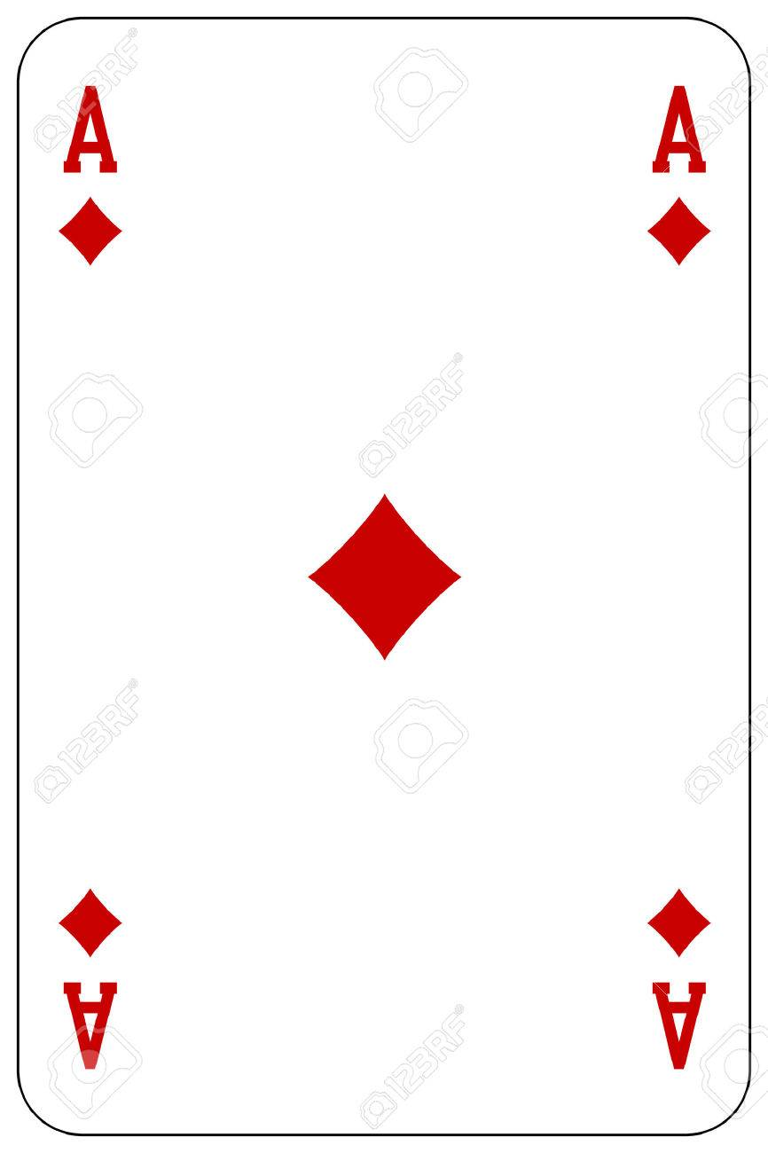 card ace shutterstock image with of diamond diamonds vector stock