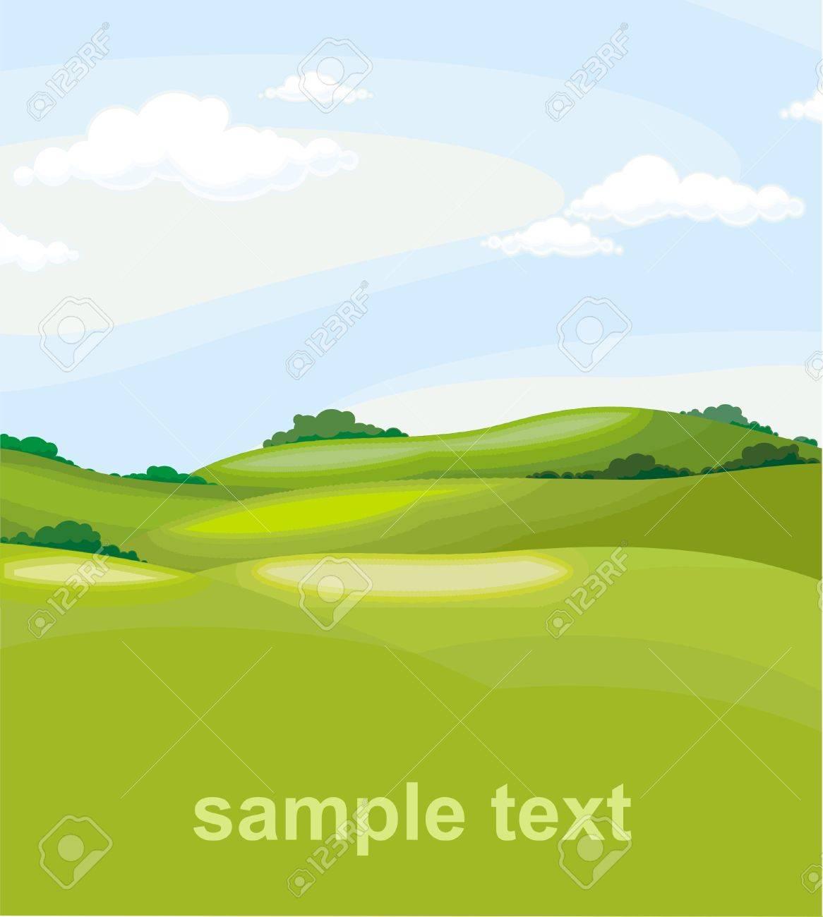 landscape Stock Vector - 4984866