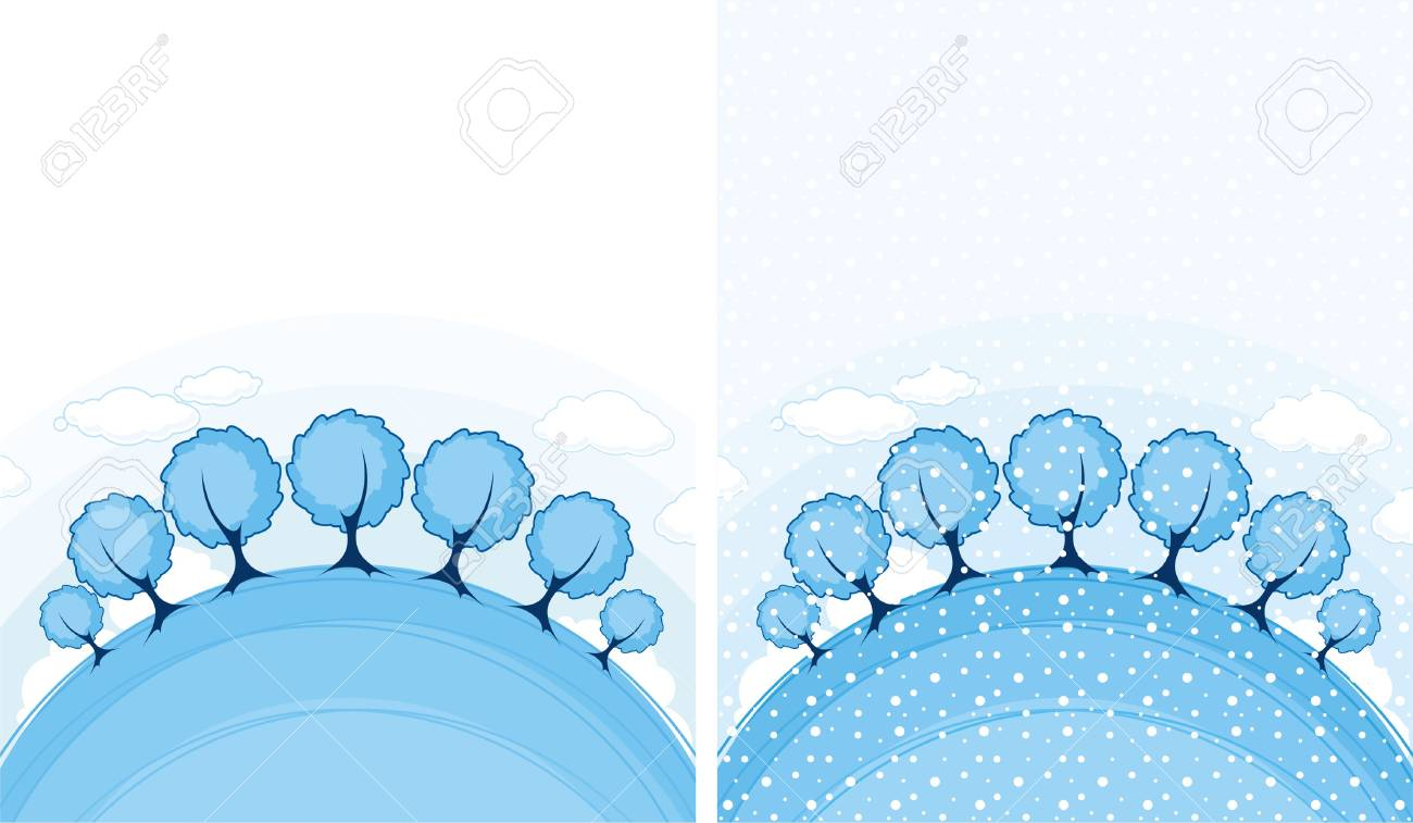 Winter landscape Stock Vector - 5839317