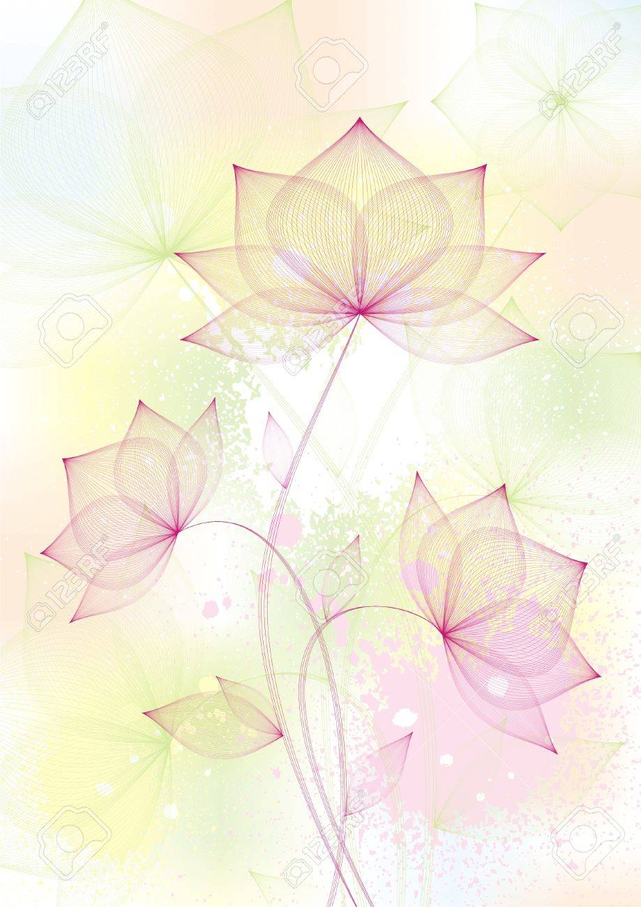 floral background Stock Vector - 6508088