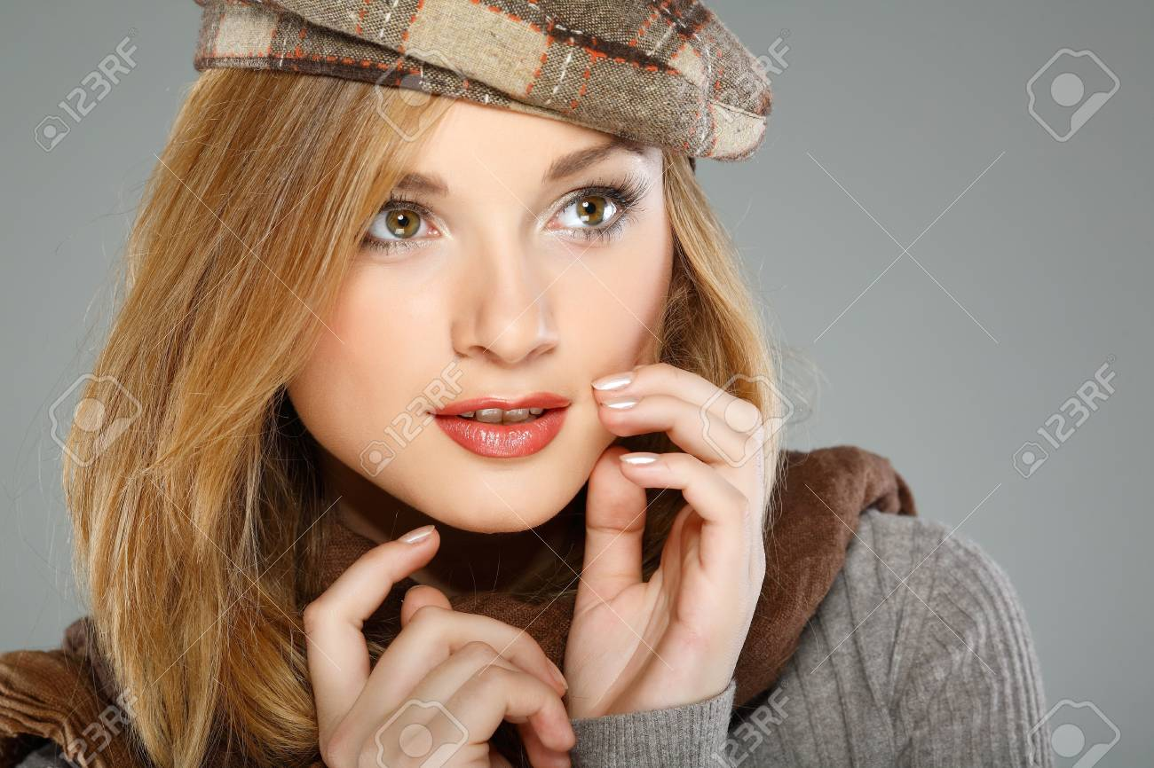A photo of beautiful girl is in winter clothes Stock Photo - 10602523