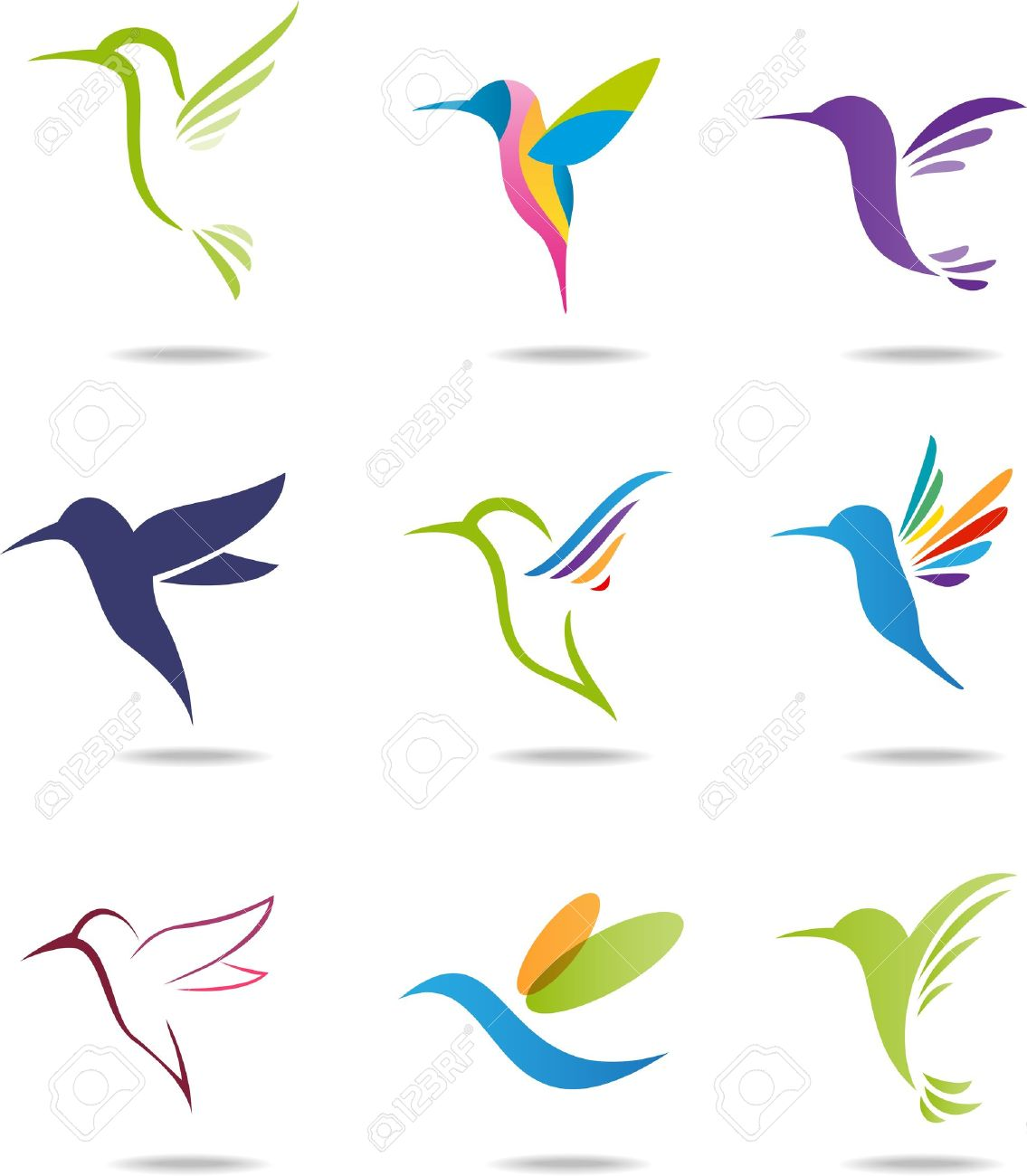 Hummingbird Stock Vector - 21018072