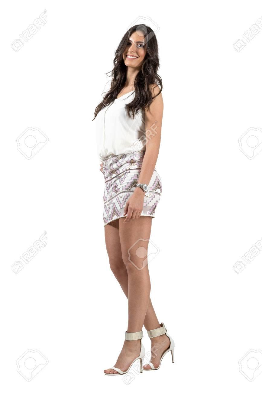 Un vestido corto es elegante