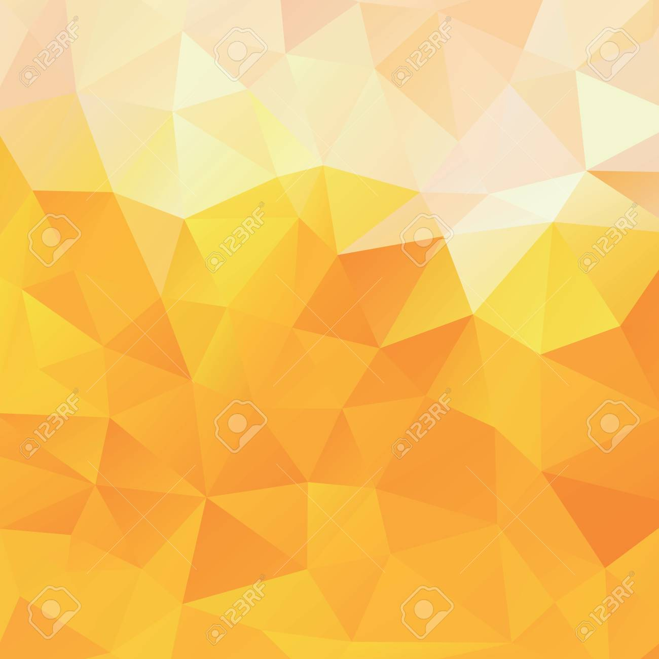 64006492 background of the triangles orange and yellow vector background abstract beer color mesh gradient wa