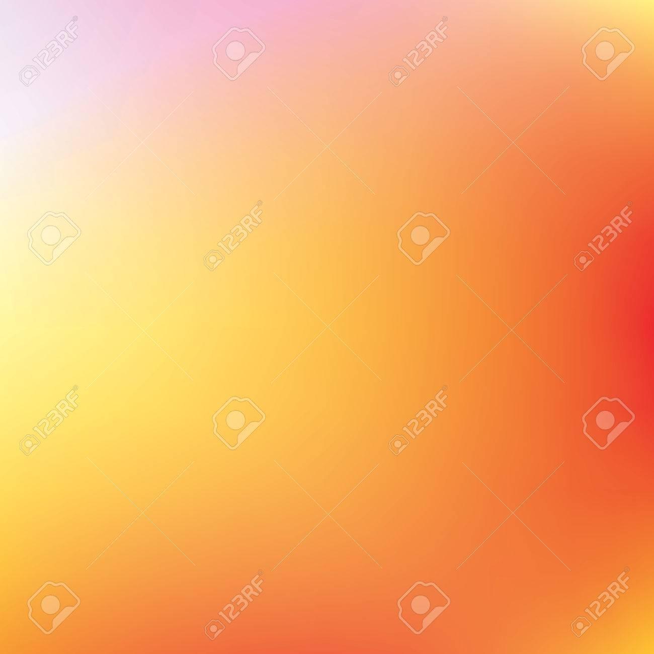 Résumé Orange Et Jaune, Vecteur, Fond, Filet De Dégradé De Couleur ...