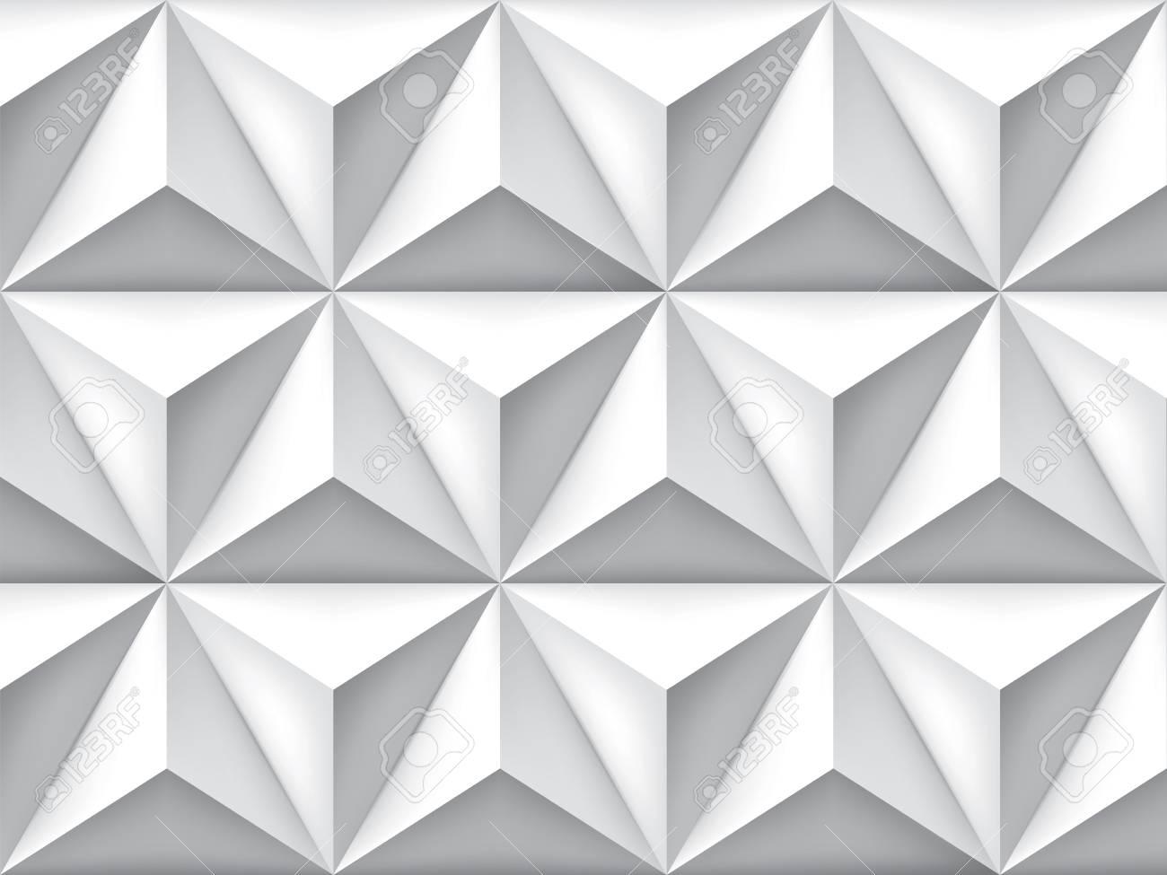 Fond Retro De Triangles De Vecteur Degrade De Maille Papier Peint Geometrique Motif Gris