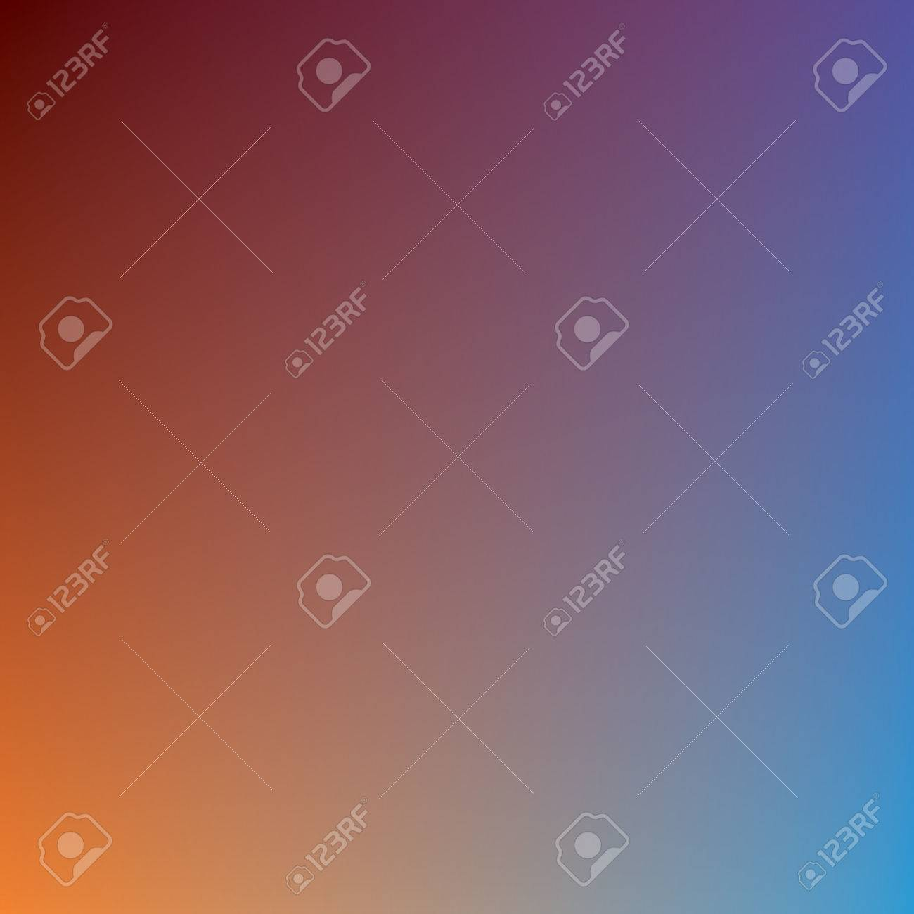 Abstract Vector Mesh Background Color Gradient Blue And Orange