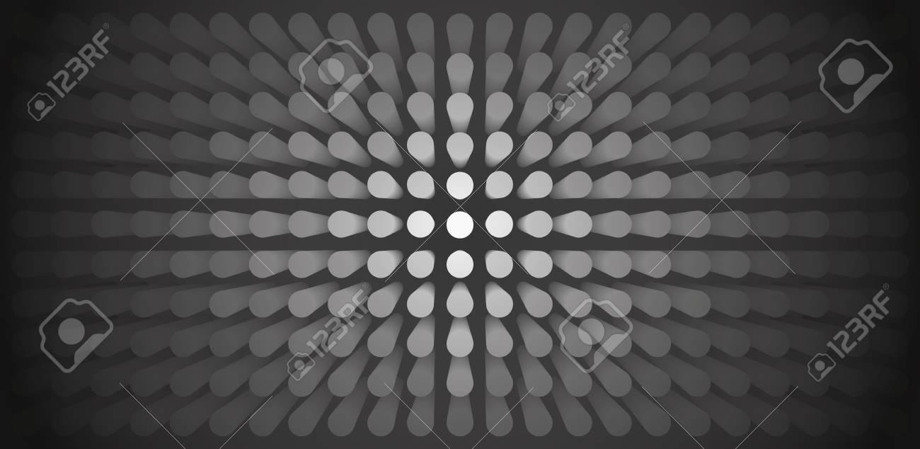 Abstrakter Grauer Hintergrund Des Volumen Viele Säule Zylinder