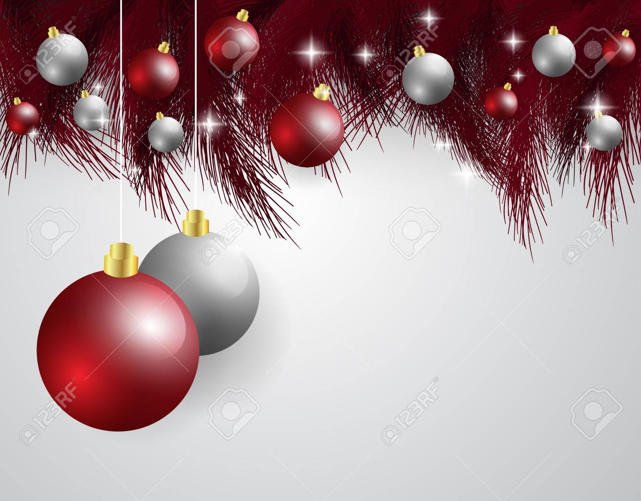 Glitzer Bilder Weihnachten.Stock Photo