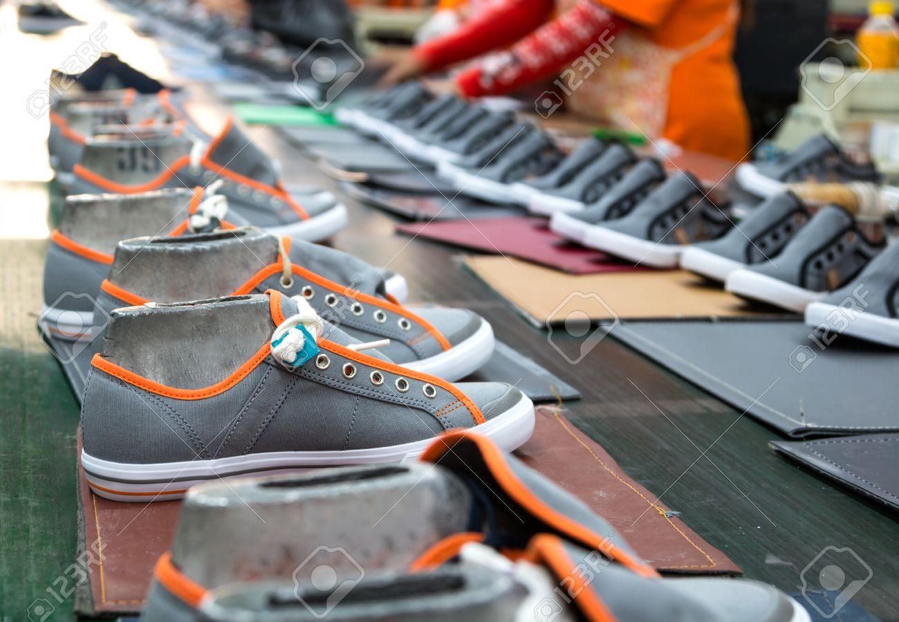 sneaker shoe making in footwear industry