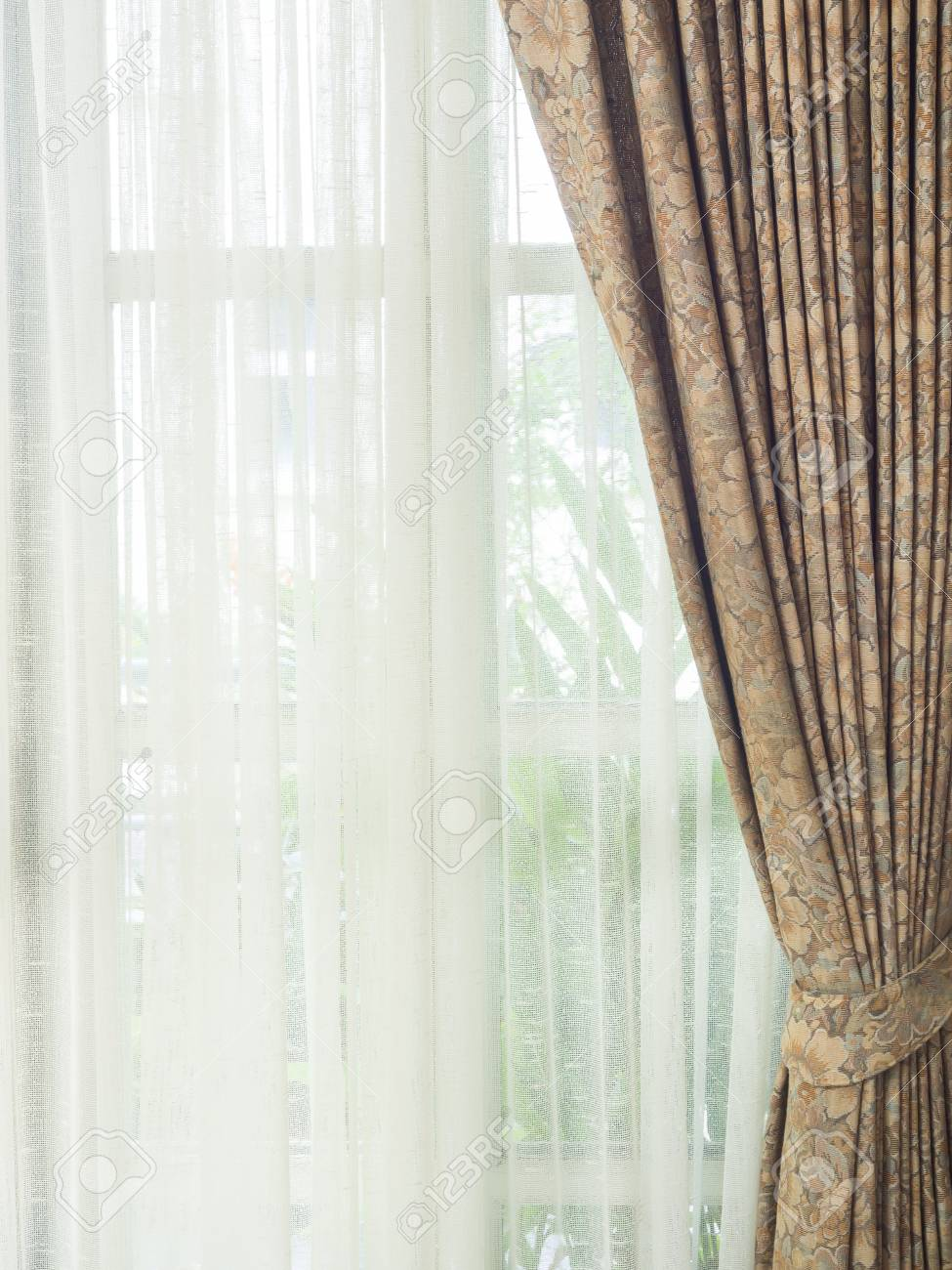 striped and brown white eco with elegant print buy panels zoom two curtains p blackout loading floodlight