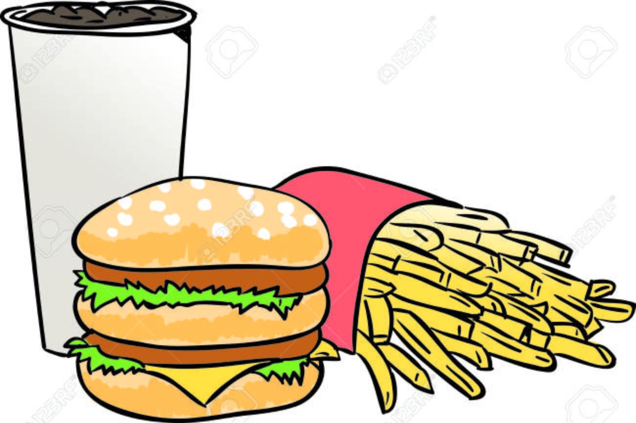 Ensemble Hamburger Dessin Anime Clip Art Libres De Droits Vecteurs Et Illustration Image 51731912