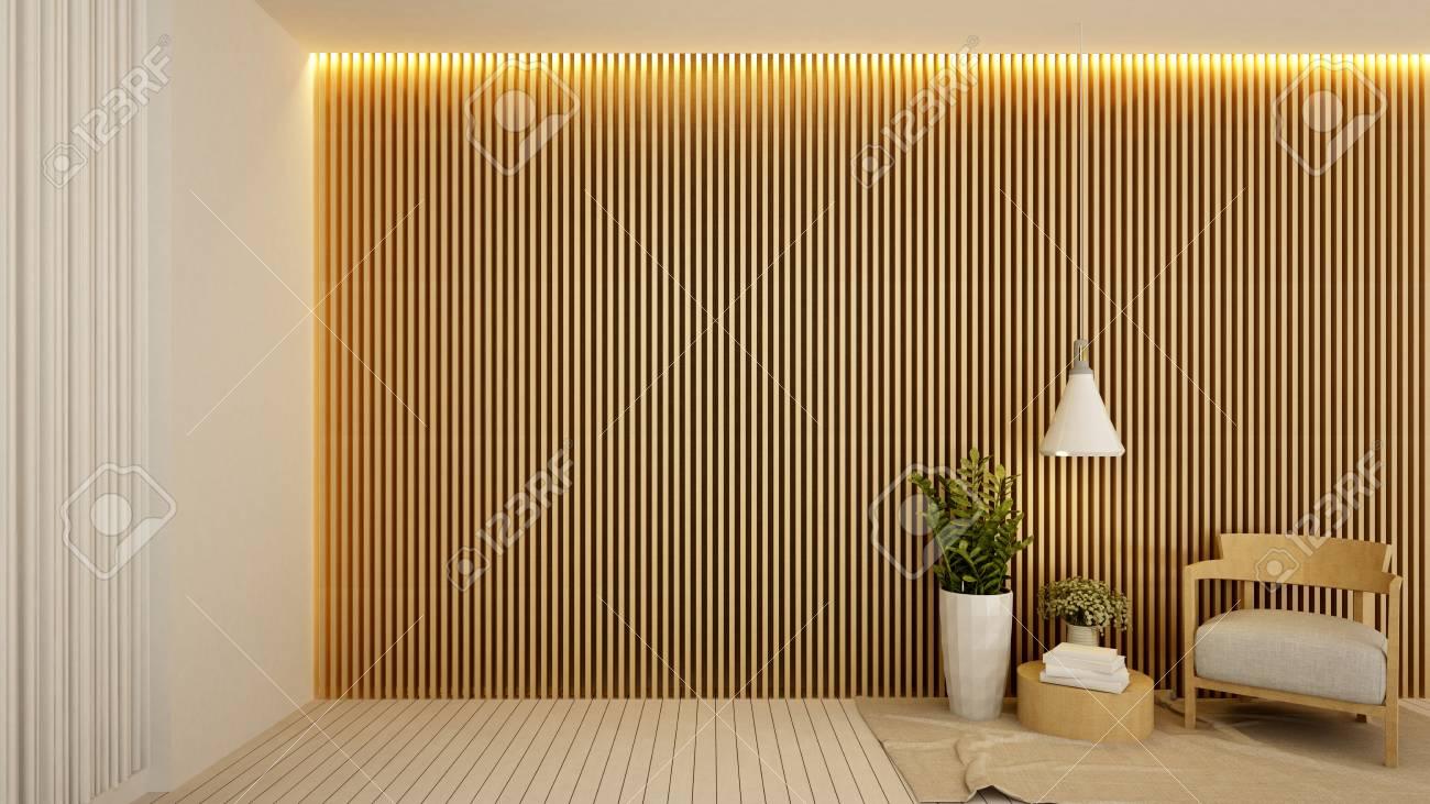 Living Area In Hotel Or Apartment Interior Design 3d Rendering