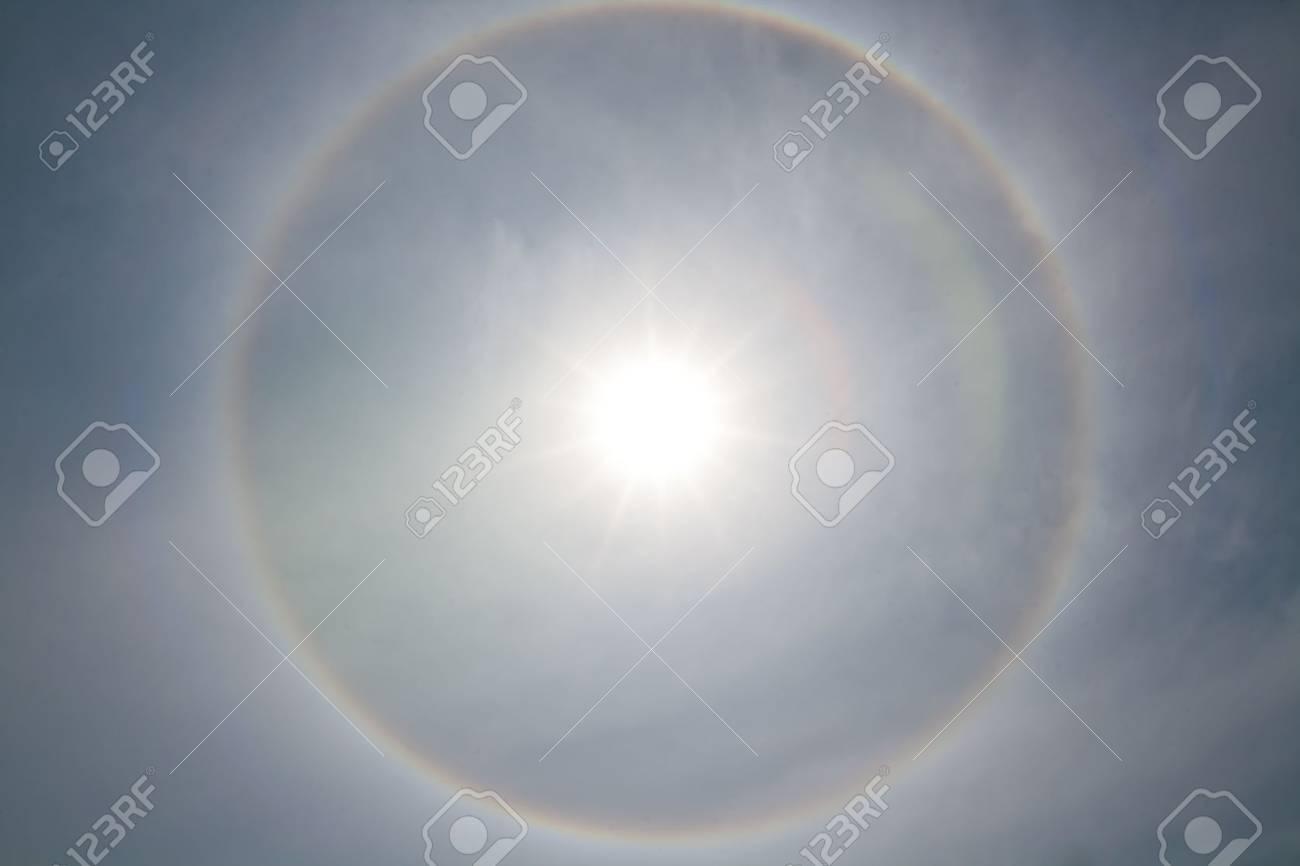 background Corona, ring around the sun Stock Photo - 15705326