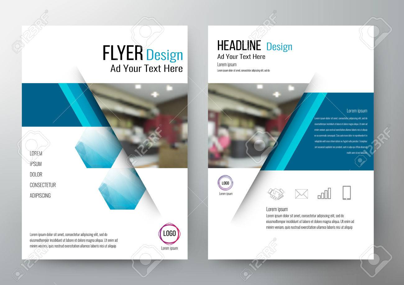 design Layout Template Brochure. For annual report - 57605867
