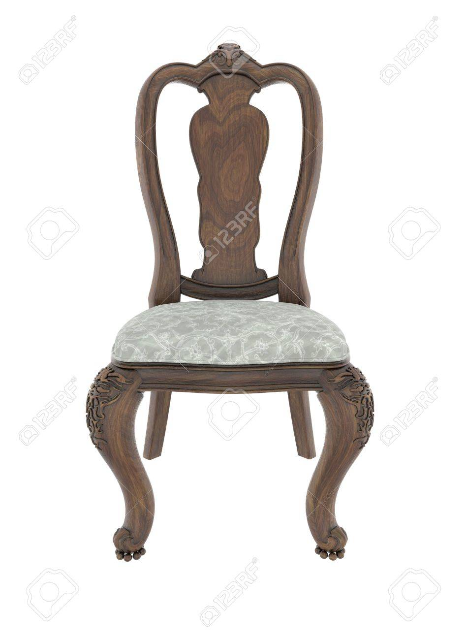 Hand carved antique arm chair with clipping path on white background Stock  Photo - 50923171 - Hand Carved Antique Arm Chair With Clipping Path On White Background