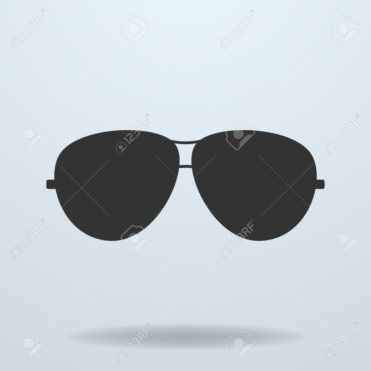 cop glasses  Police Or Cop Sunglasses, Glasses. Vector Black Icon Royalty Free ...