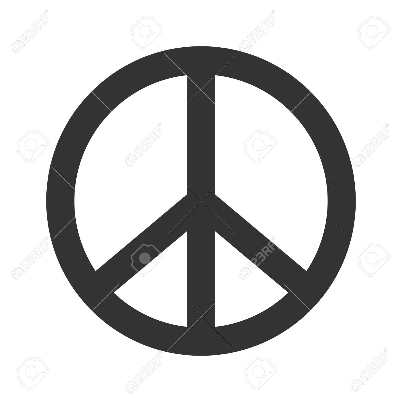 peace sign hippie symbol of peace vector illustration eps 10 rh 123rf com peace sign vector file peace sign vector clip art