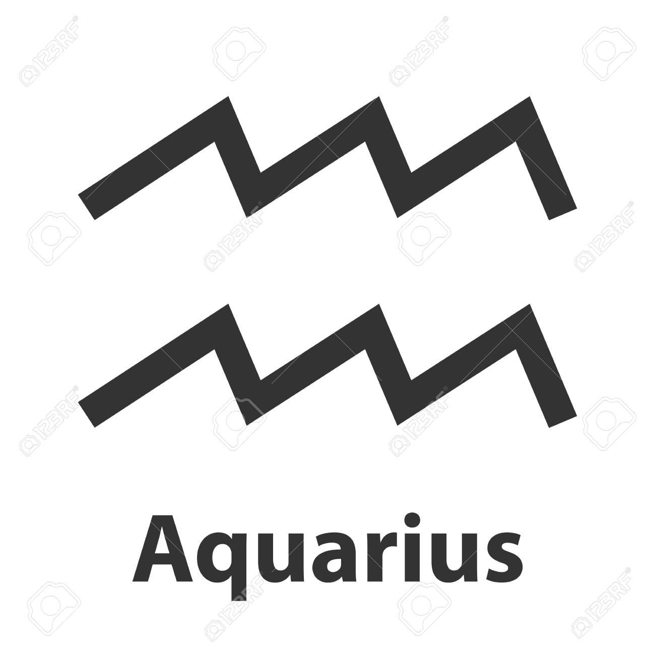 Aquarius waterbearer zodiac sign vector illustration icon aquarius waterbearer zodiac sign vector illustration icon stock vector 68283425 biocorpaavc Choice Image
