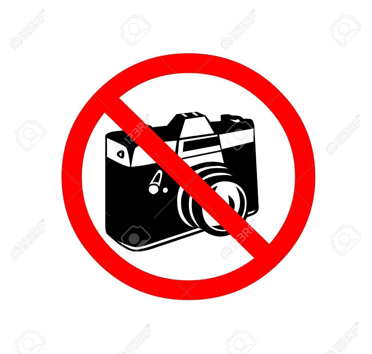 No photo camera shiny sign Stock Photo - 11328507