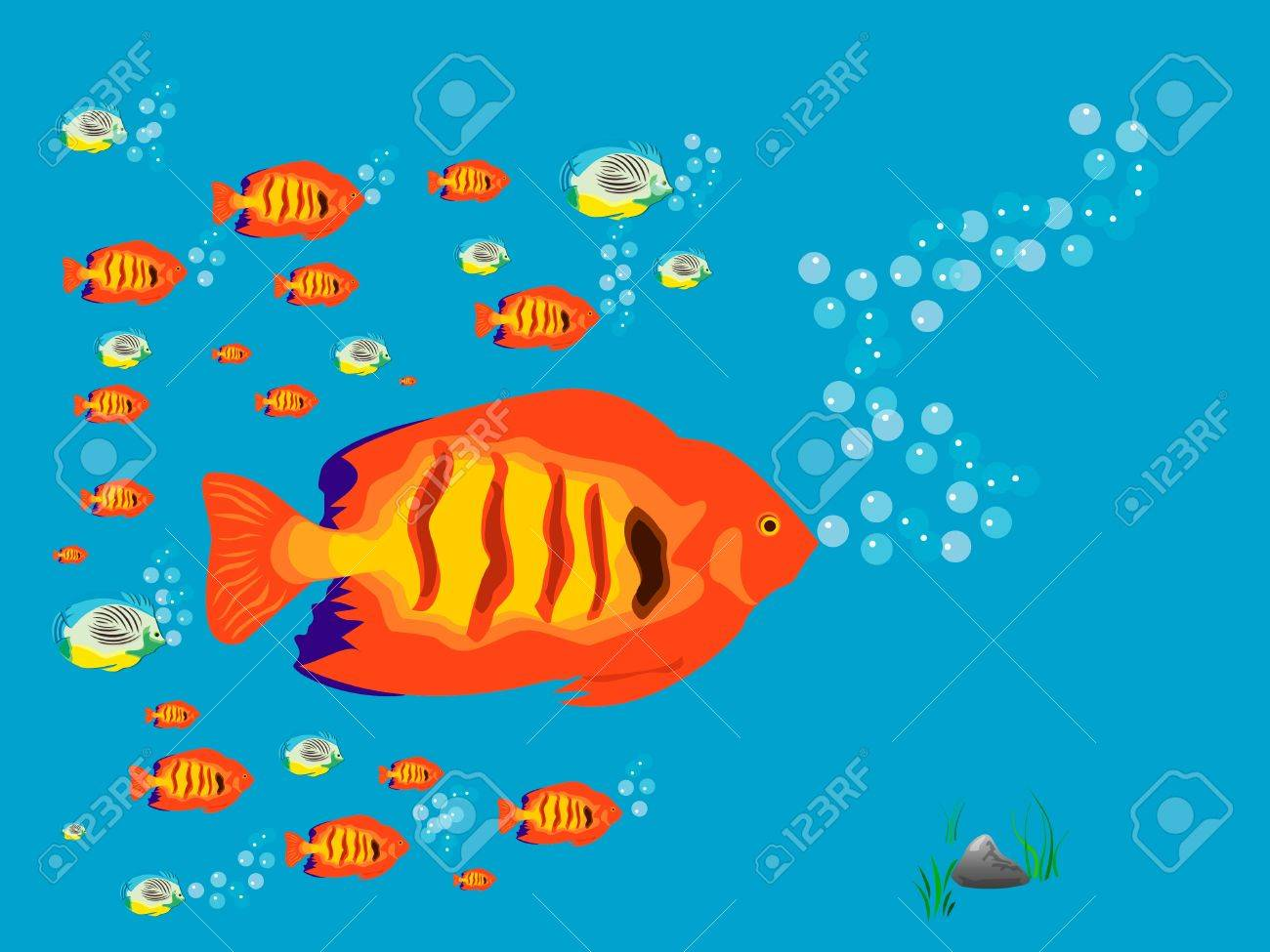 Fish Stock Vector - 12232168