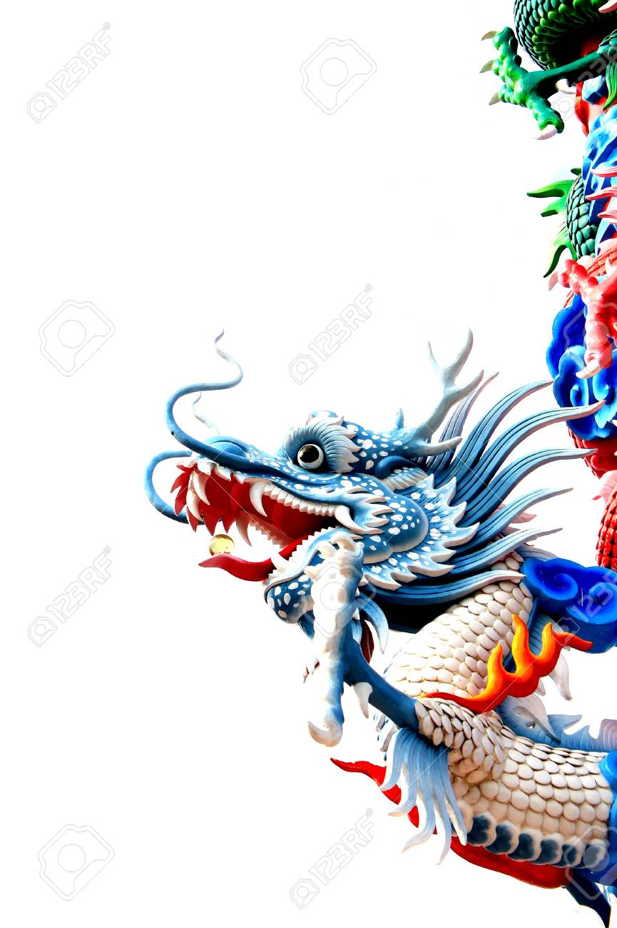 Chinese style dragon statue Stock Photo - 13102251