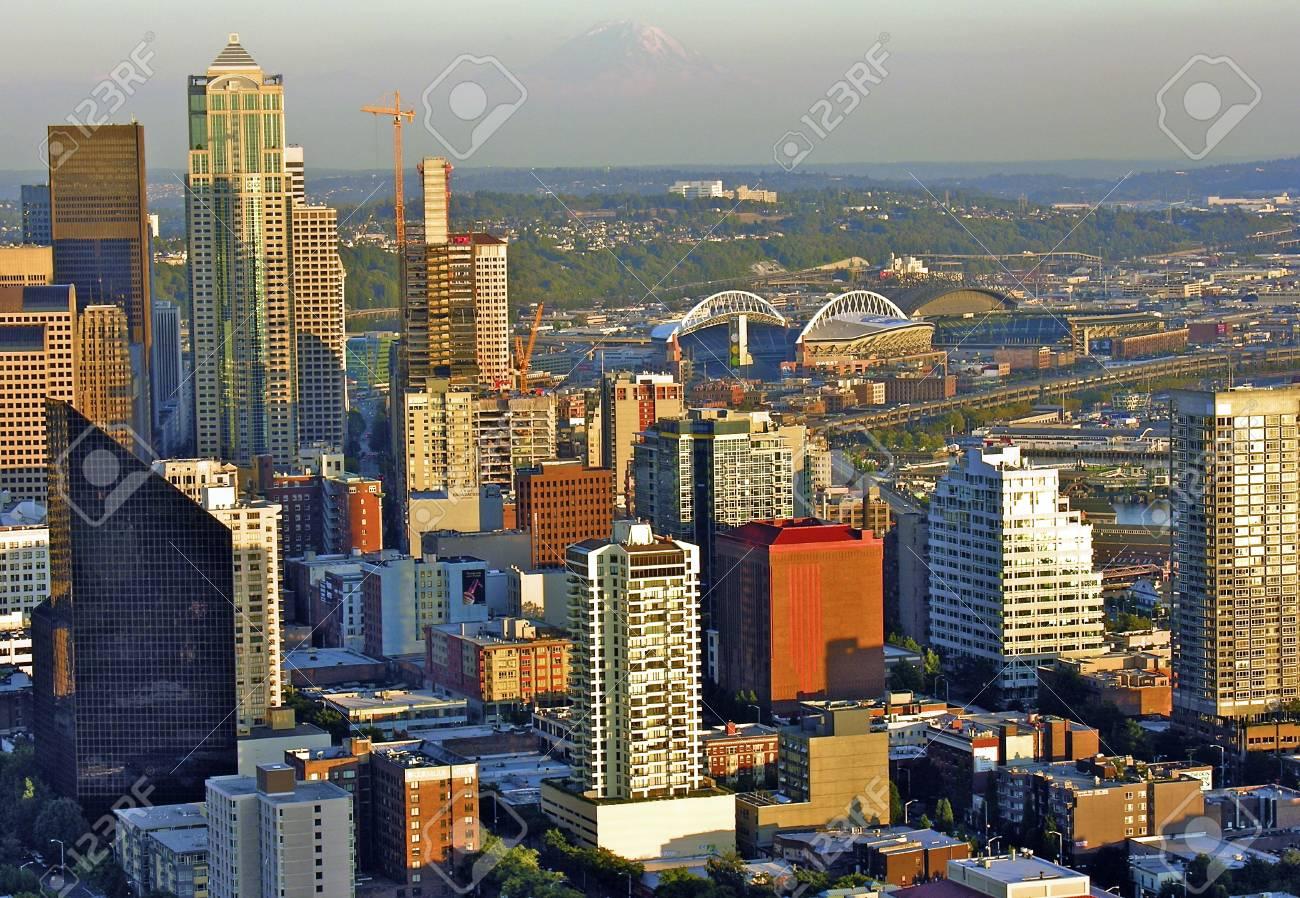 Architectural Detail of Seattle, Washington Stock Photo - 12178587