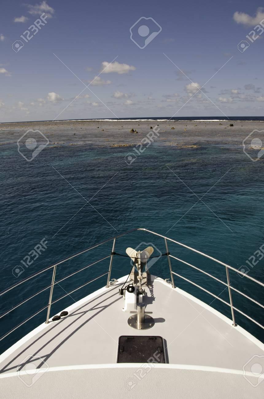 Surface of the Great Barrier Reef near Port Douglas, Australia Stock Photo - 12169700