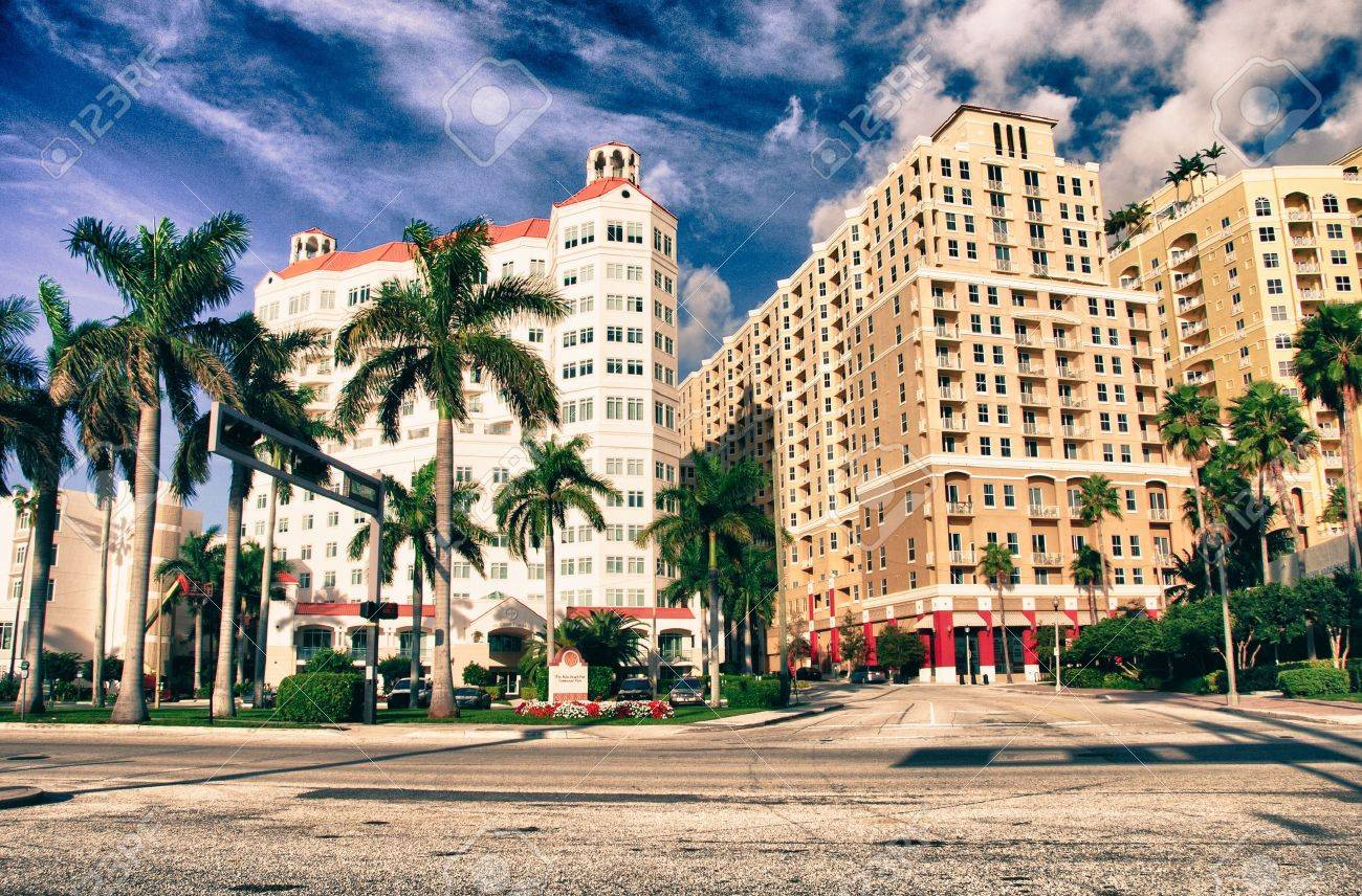 Colors of Miami in Florida, U.S.A. Stock Photo - 14375902
