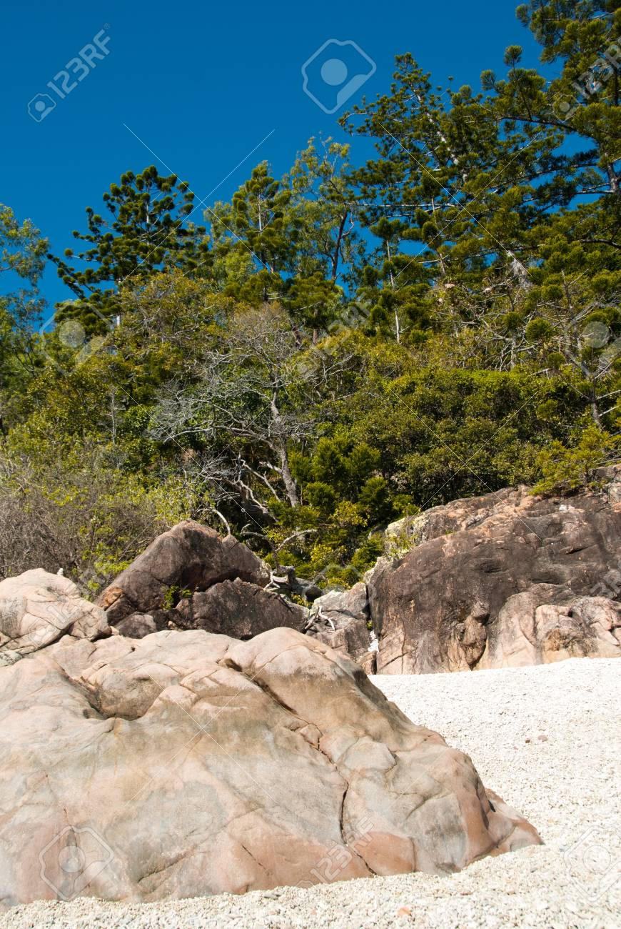 Nature of Whitsunday Islands Archipelago Stock Photo - 16121600