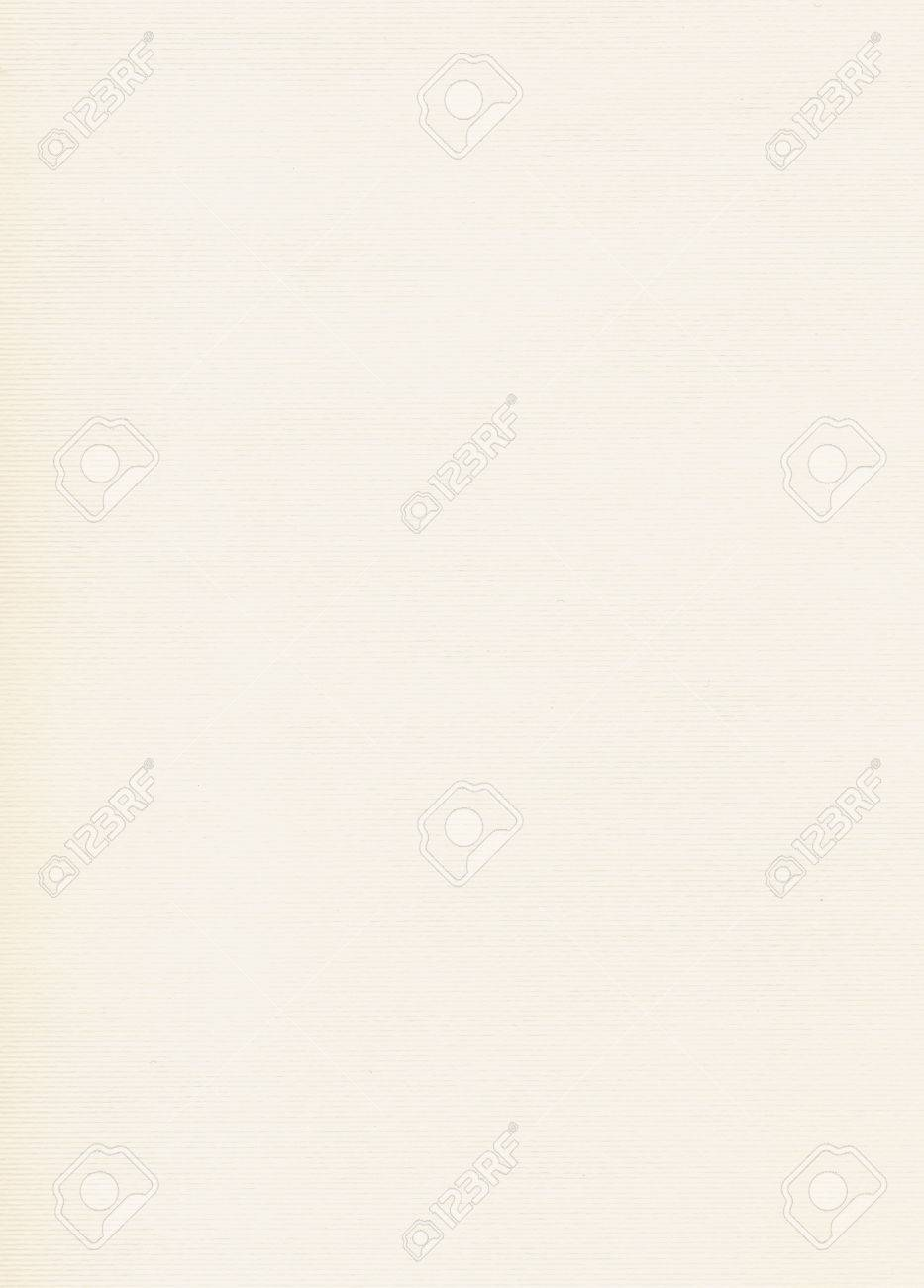 Off White Paper Texture With Watermark Useful As A Background Stock Photo
