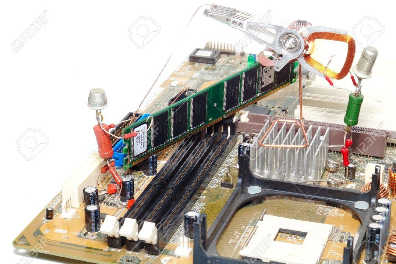 computer repair or memory upgrade Stock Photo - 2711973