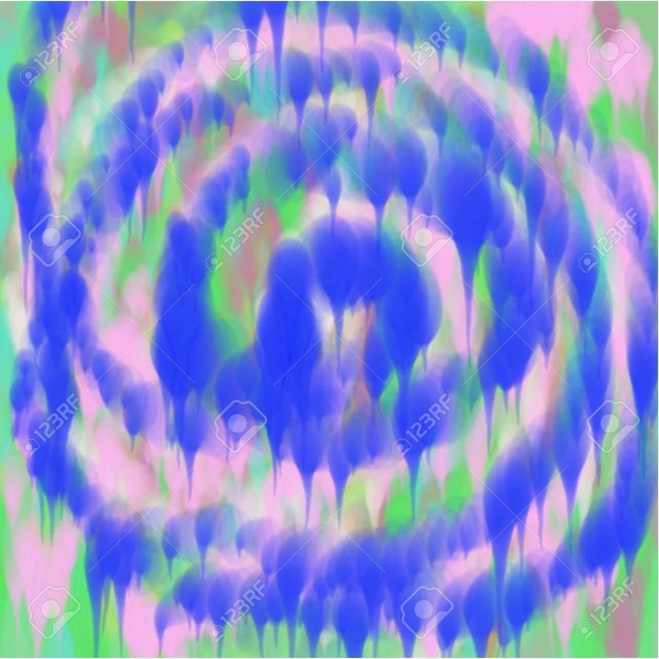 Vettoriale Astratto Blu E Grigio E Verde E Rosa Sfondo Di Vernice