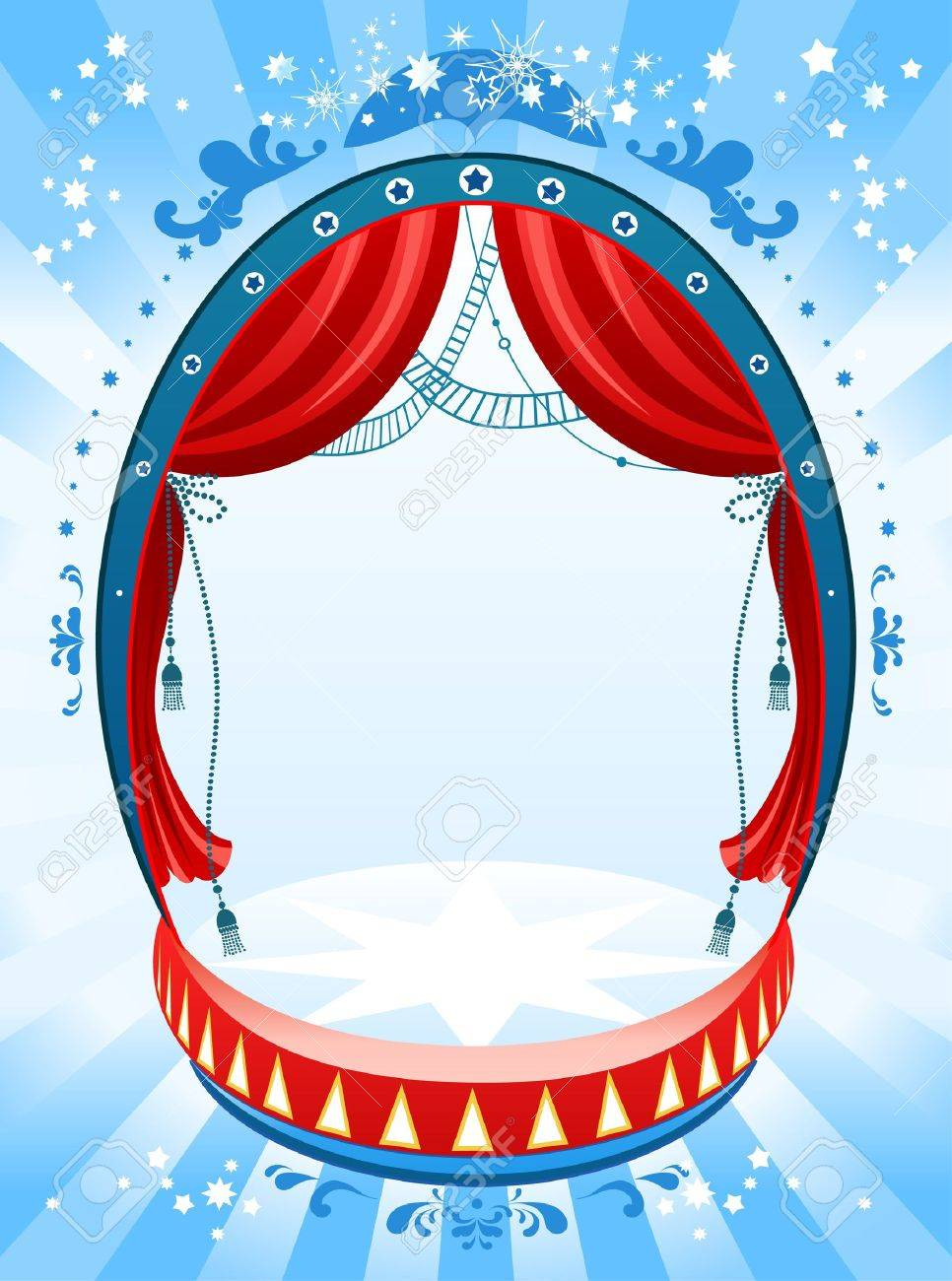 Circus background with space for text Stock Vector - 9267175
