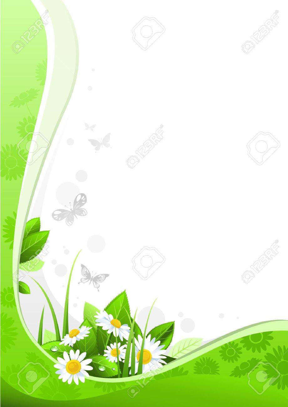 Summer floral design with space for text Stock Vector - 9334039