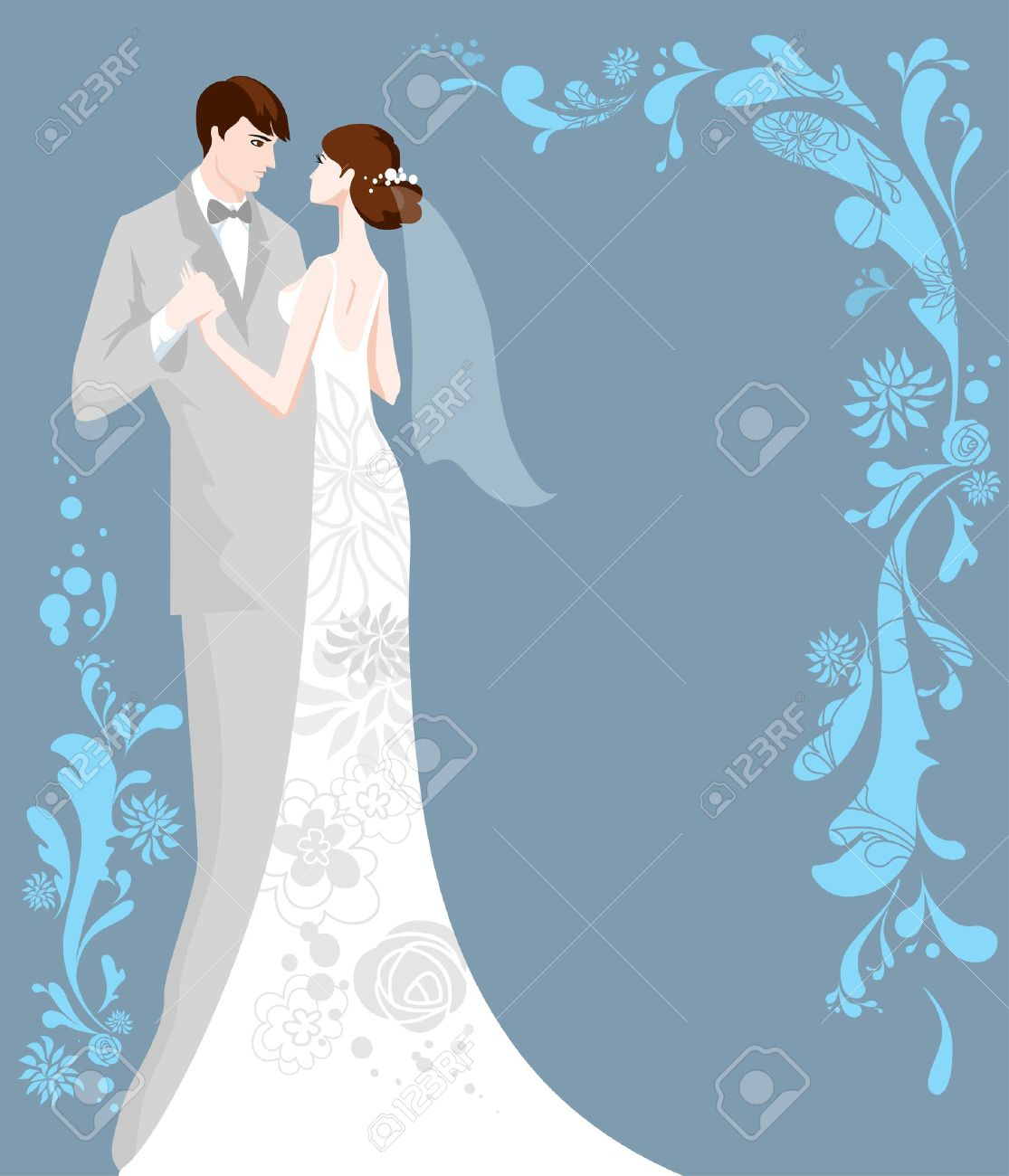 wedding background with space for text royalty free cliparts