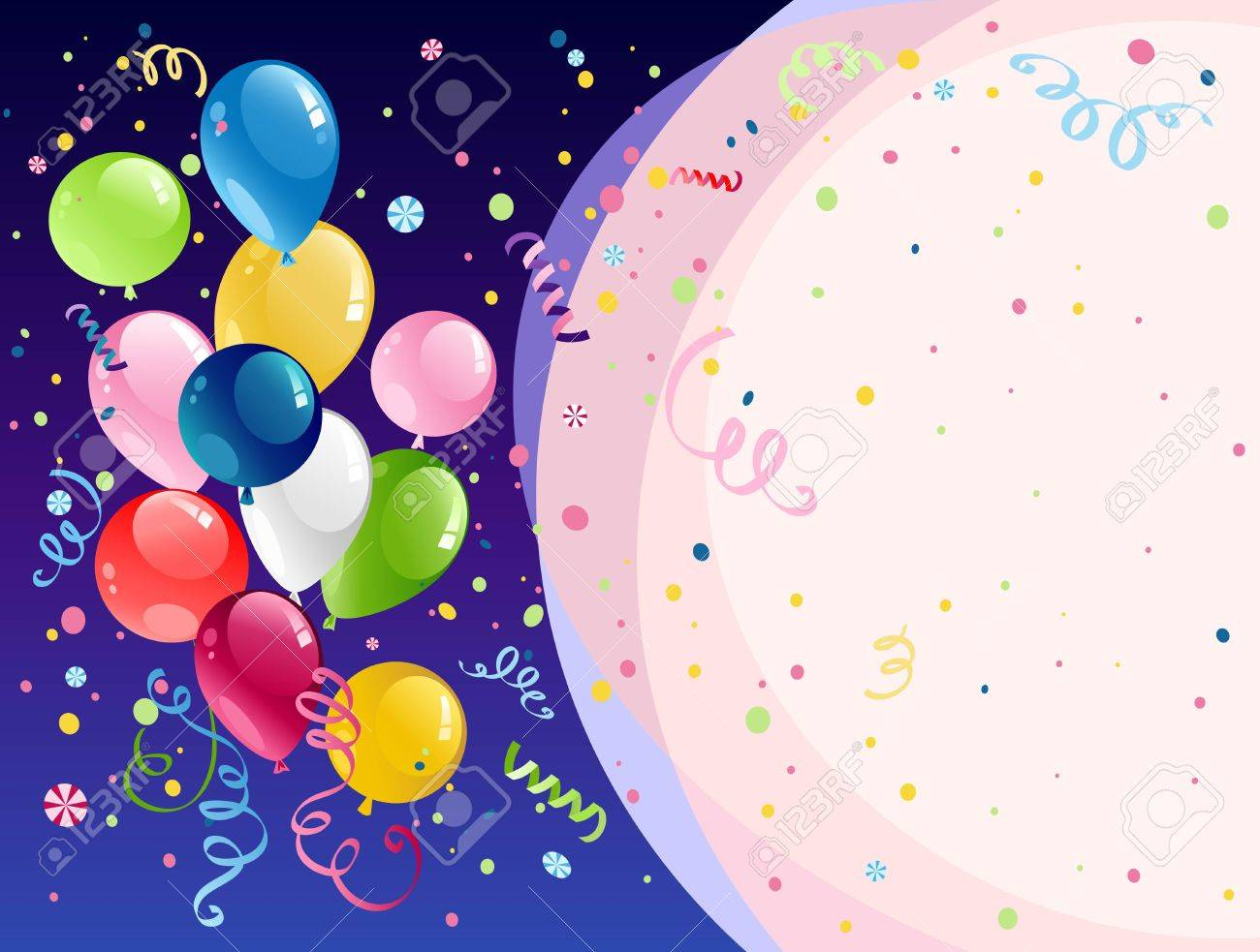 Celebration background with space for text Stock Vector - 9813464