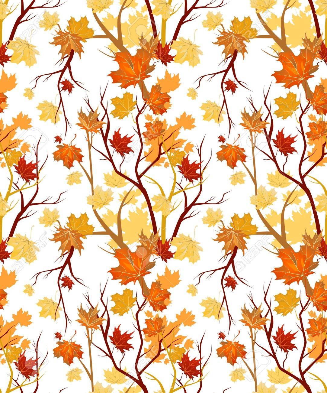 Autumn seamless Stock Vector - 10102010