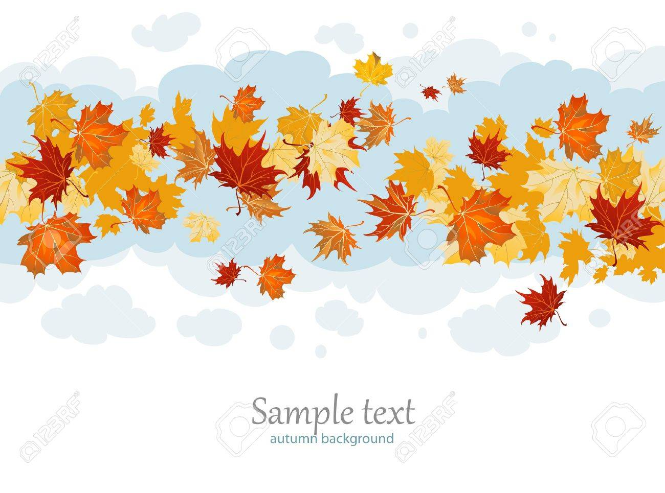 Maple leaves Stock Vector - 10102004