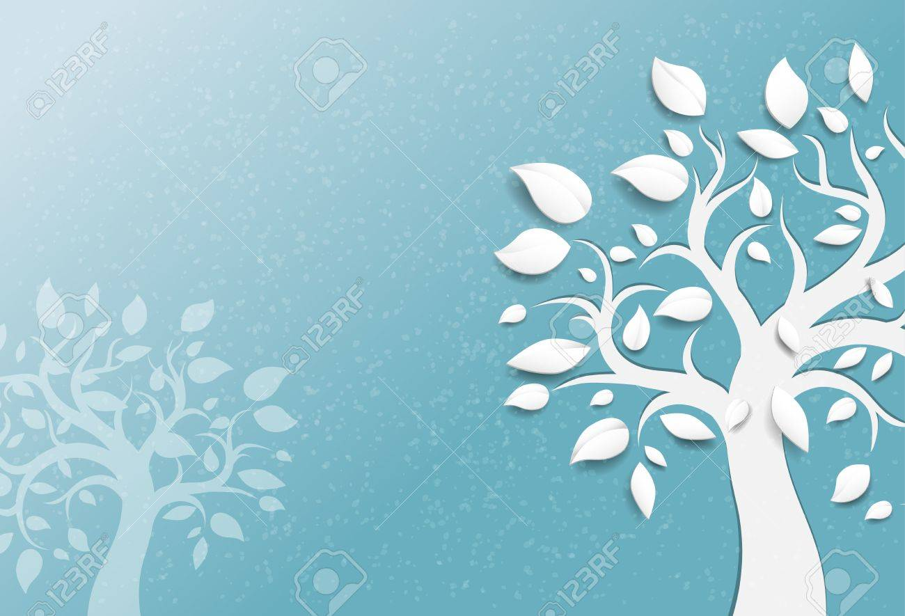 Abstract trees background Stock Vector - 18705029