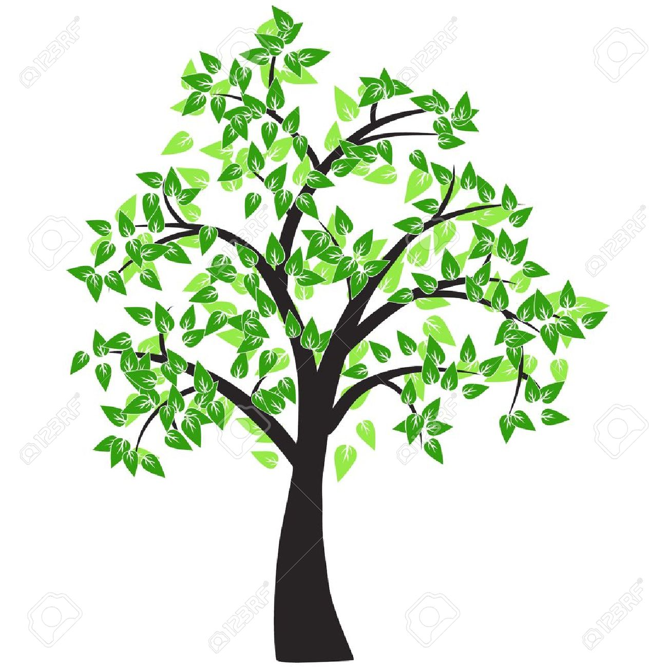 decorative tree royalty free cliparts vectors and stock