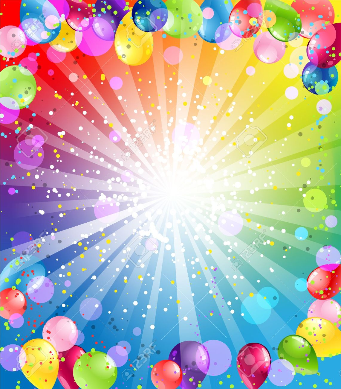 Festive background with balloons - 20544708