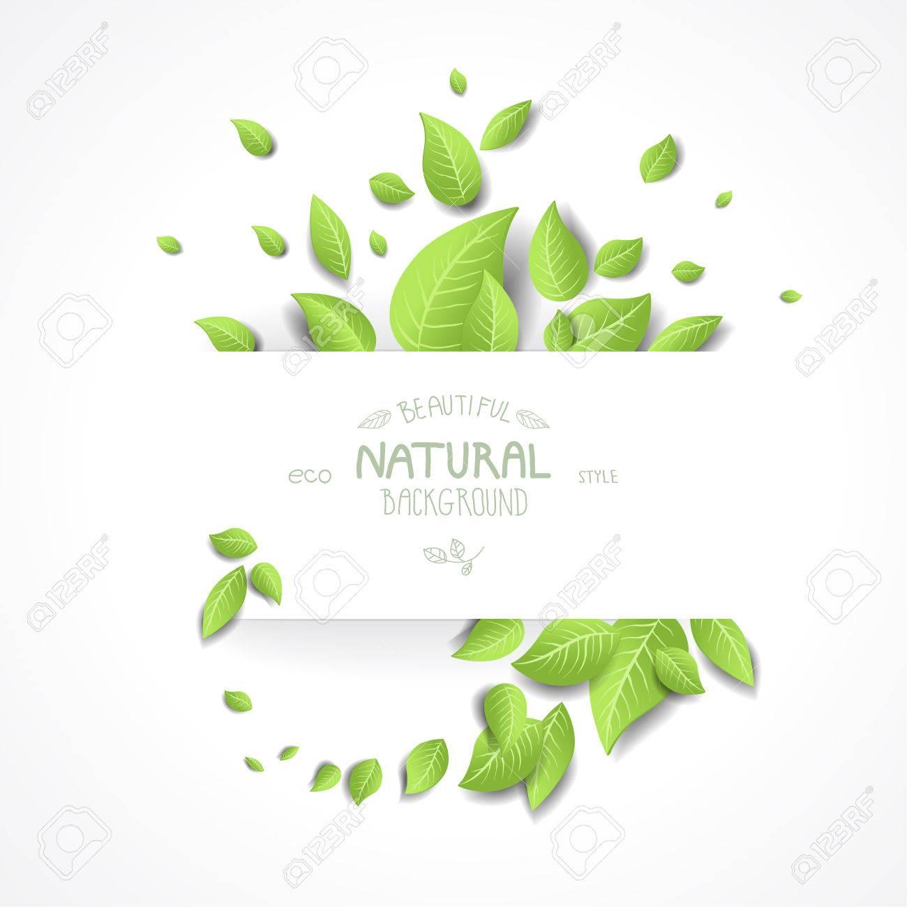 resume de fond de l eco avec des feuilles vertes fraiches place - Resume De Science 3as Algerie