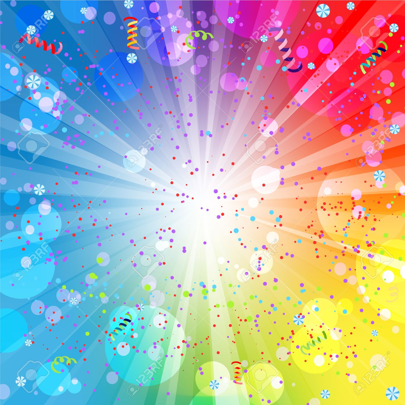 Festive colorful background with place for text - 32143221