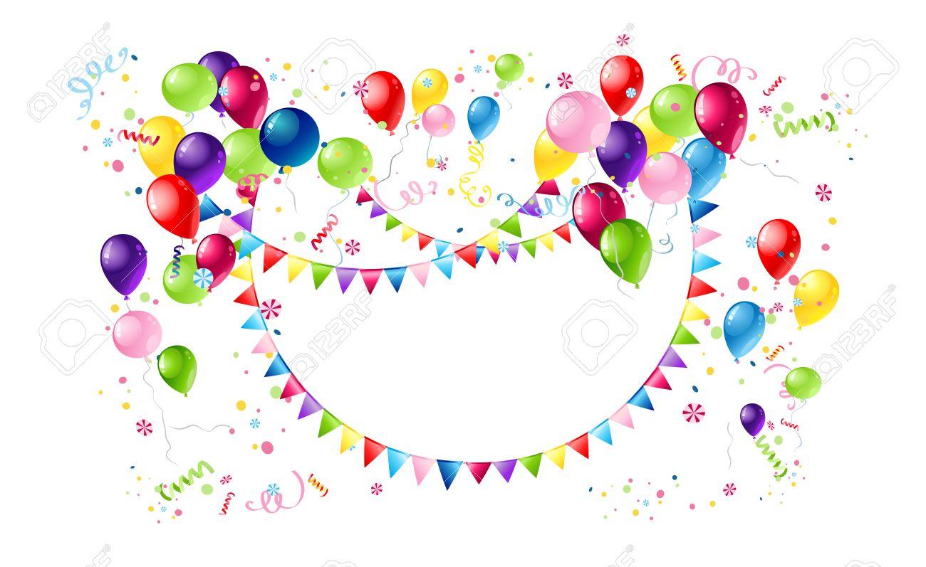 happy birthday circle template