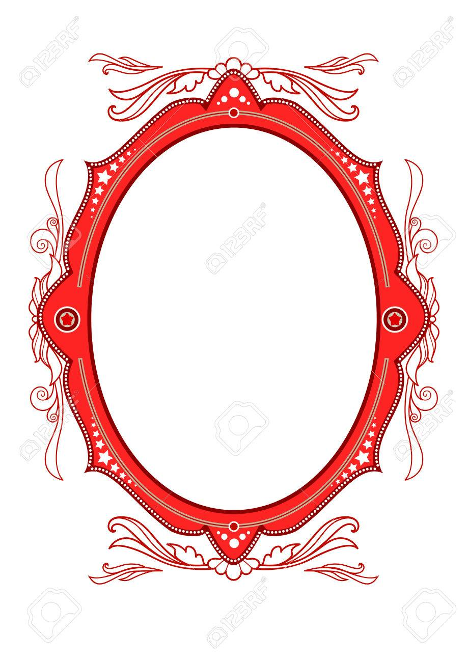Circus Vintage Frame Royalty Free Cliparts, Vectors, And Stock ...