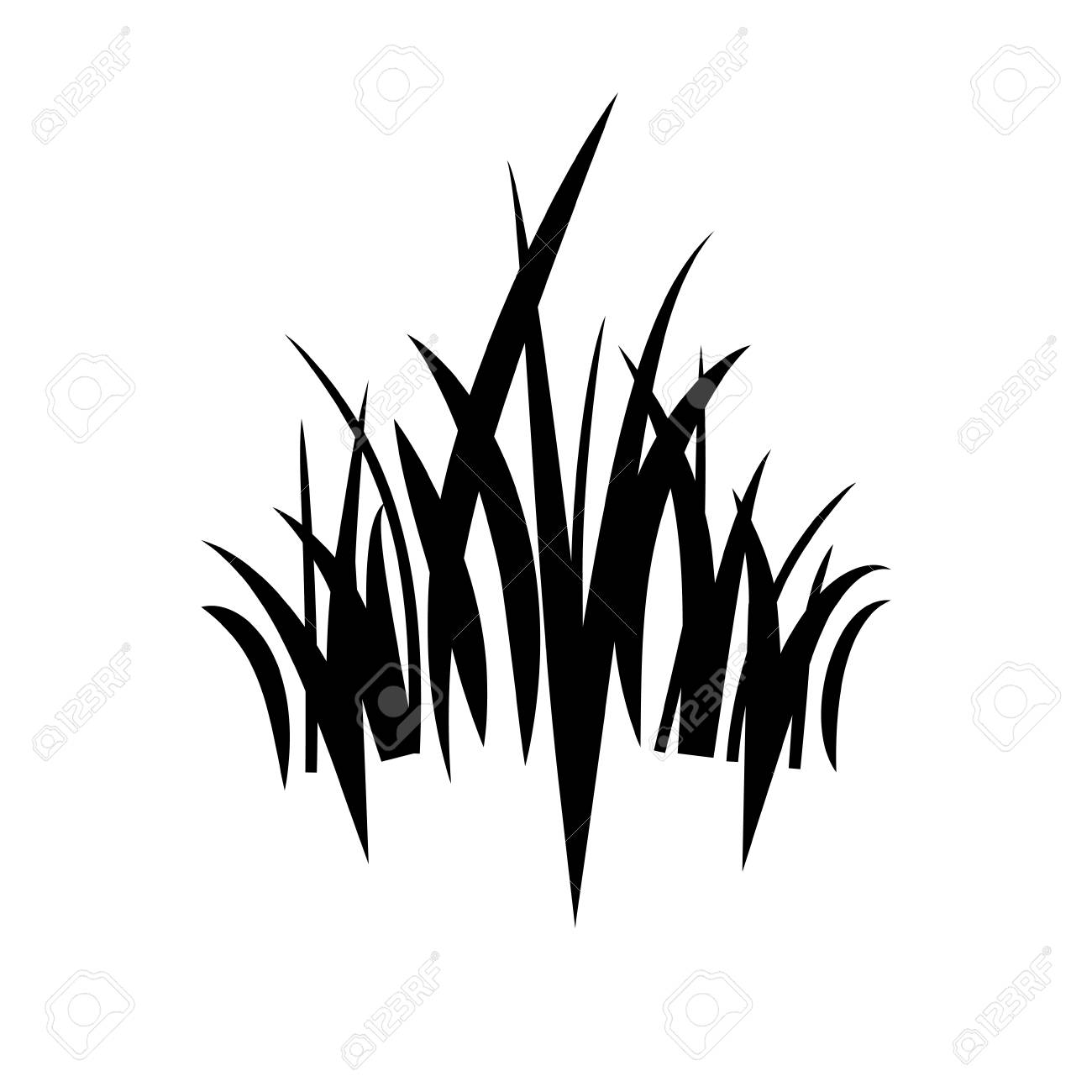 logo grass icon royalty free cliparts vectors and stock illustration image 80333605 logo grass icon