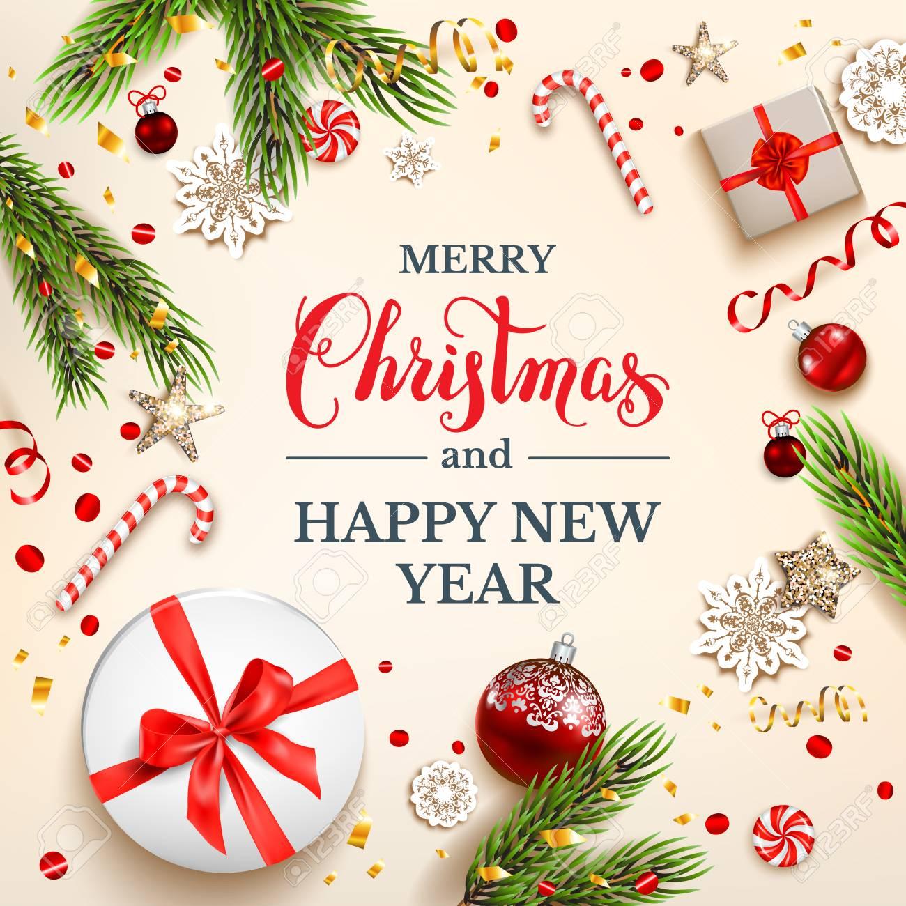 Light Christmas card - 91984960