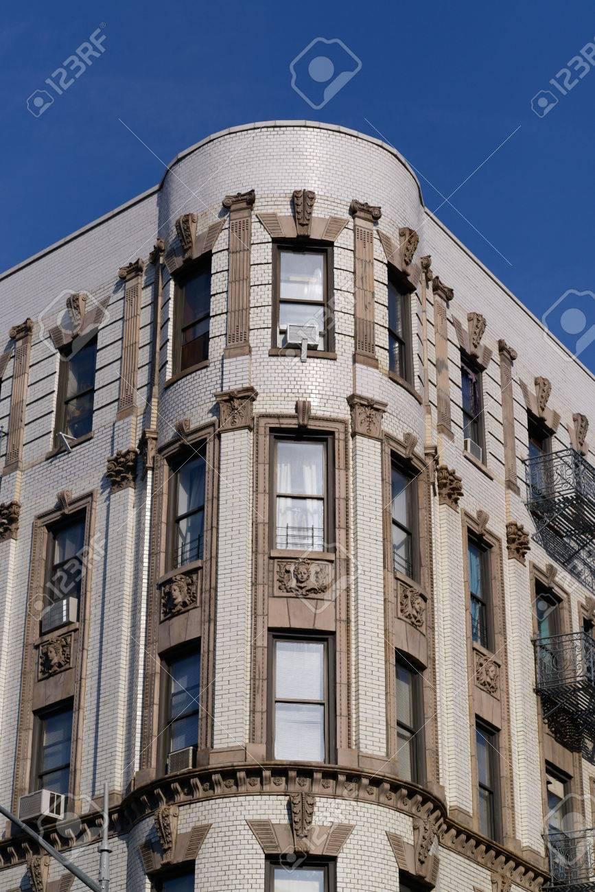 避難はしご、アメリカでニューヨークの建物の写真。